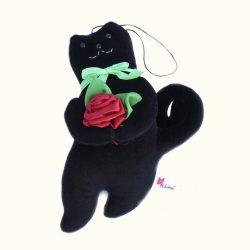 Кот презент черный 9.270.4