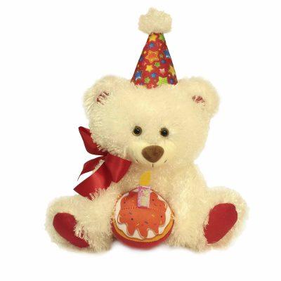 Медведь Праздничный белый 2.296.1