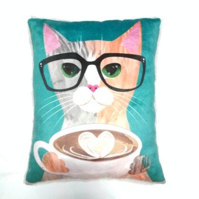 Кот кофеман зел лицо