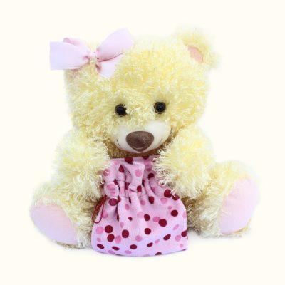 Медведь Праздничный медово-желтый 2.296.3