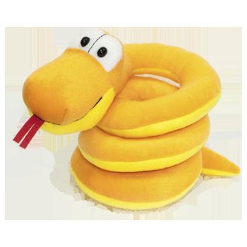 Змейка Файка оранжевая
