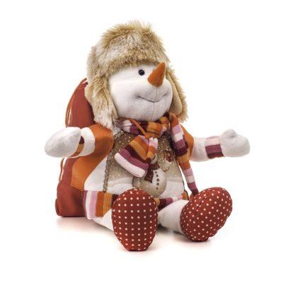Снеговик с рюкзаком 51.1.1